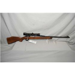 "Husqvarna Model Mauser Action .243 Win Cal Bolt Action Rifle w/ 24"" bbl [ blued finish, barrel sight"