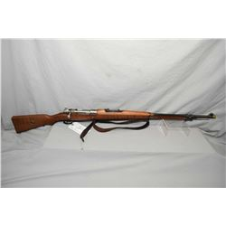 Brazilian Mauser ( DWM ) Model 1908 .7 MM Mauser Cal Bolt Action Full Wood Military Rifle w/ 29 1/4""