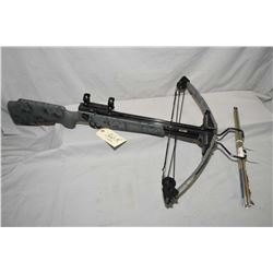 Browning Orion Model C - OR 12 C Crossbow with scope rings, composite pistol grip , c/w four bolts,