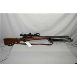 Ruger Model M77 .300 Win Mag Cal Bolt Action Rifle w/ 24  bbl [ blued finish, no sights, but fitted