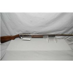"Remington Model 10 - A . 12 Ga Pump Action Shotgun w/ 30"" bbl [ faded blue finish, turning brown in"