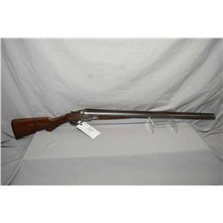 "Crescent Arms Co. Norwich, Conn. Model Peerless .12 Ga Hammerless Side By Side Shotgun w/ 30"" bbls ["
