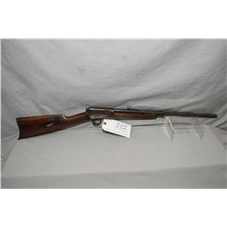 "Winchester Model 1903 .22 Automatic Cal Semi Auto Rifle w/ 20"" bbl [ mottled fading blue finish with"