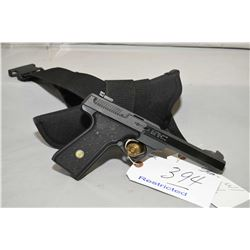 Browning Model Buck Mark .22 LR Cal 10 Shot Semi Auto Pistol w/ 140 mm bbl [ flat black finish, with