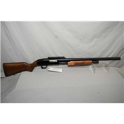 "Mossberg Model 500 A .12 Ga 3"" Pump Shotgun w/ 24"" rifled bbl [ blued finish, no sights, but has sco"