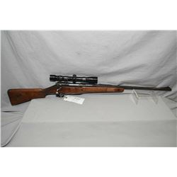 "Enfield Pattern 1914 .303 Brit Cal Bolt Action Sporterized Rifle w/ 24"" bbl [ faded blue finish, bar"