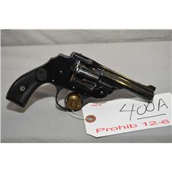 Hopkins & Allen Model Safety Police Hammerless .38 S & W Cal 5 Shot Revolver w/ 83 mm bbl [ appears