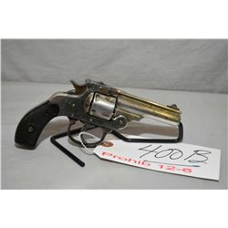 Unknown Model Smith & Wesson 32 Double Action Copy .32 S & W Cal 5 Shot Revolver w/ 76 mm bbl [ flak