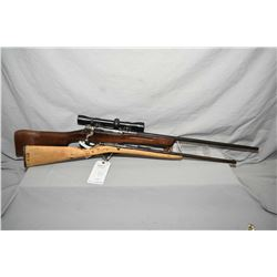 "Lot of Two Firearms : Enfield Pattern 1914 .303 Brit Cal Bolt Action Sporterized Rifle w/ 26"" bbl ["