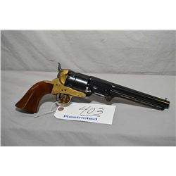 Uberti Model Colt 1860 Army Reproduction .44 Perc Cal 6 Shot Revolver w/ 103 mm bbl [ blued finish,