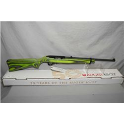 "Ruger Model 10/22 Fifty Year Anniversary 1964 - 2014 ""Zombie"" .22 LR Cal Mag Fed Semi Auto Rifle w/"