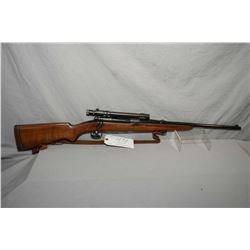 "Winchester Model 54 .30 Gov't 06 Cal Bolt Action Carbine w/ 20"" bbl [ blued finish, back sight remov"