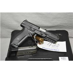 Ruger Model American Pistol Pro Model .9 MM Luger Cal 10 Shot Semi Auto Pistol w/ 107 mm bbl [ blued