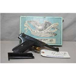 Norinco Model M93 Sportsman .22 LR Cal 10 Shot Semi Auto Pistol w/ 117 mm bbl [ appears excellent in