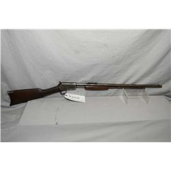 "Winchester Model 62 .22 LR Cal Pump Action Rifle w/ 23"" bbl [ patchy blue finish turning brown, more"