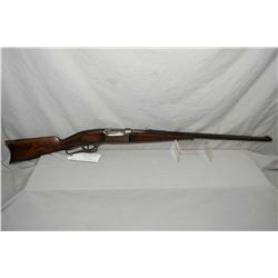 "Savage Model 1899 .303 Sav Cal Lever Action Rifle w/ 26"" octagon bbl [ patchy blued finish, fading t"