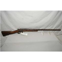 "Unknown European .12 Ga Bolt Action Shotgun w/ 28"" bbl [ fading mottled blue finish turning brown, s"