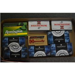 Tray Lot : 35 Rnds Federal .243 Win Ammo - One Box Federal .270 Win Ammo - 1 Box Federal .303 Brit A