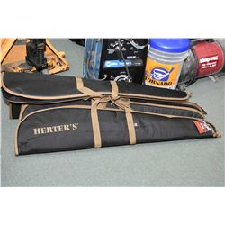 Bundle Lot : Six Herter's Soft Rifle Cases [ as new ]