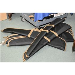 Bundle Lot : Four Herter's Soft Rifle Cases and Four Herter's Soft Shotgun Cases [ as new ]
