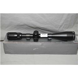 Bushnell Legend Ultra HD 4.5 - 14 x 44 Scope with side focus, Weaver rings [ appears v- good ]