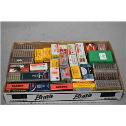 Tray Lot : Full of .22 Cal Ammo in Boxes [ Various Makers ]