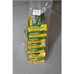 Bag Lot : Seven Boxes ( 20 rnds per ) .30 - 06 Sprg Cal Ammo