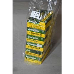 Bag Lot : Six Boxes ( 20 rnds per ) .35 Rem Cal Ammo