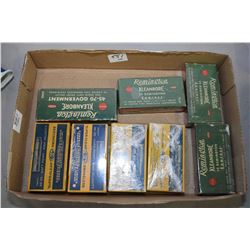 Tray Lot : Four Boxes Super Klean CIL Collector Ammo : .30 - 30 , .38 -55, 2 Boxes .22 Sav, Four Box