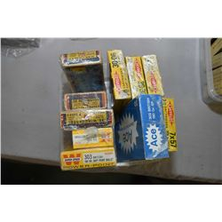Plastic Tray : Collector's Ammo : Three Boxes WIn .30 Win, .32 Rem, .35 Win - 4Boxes Gevelot : .243,