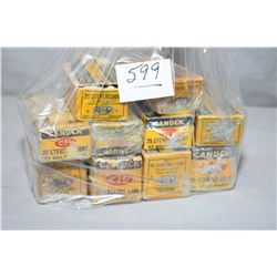 Bag Lot : Four Boxes ( 50 rnds per ) .25 Stevens Long Cal Ammo - Six Boxes Collector Ammo .25 Steven