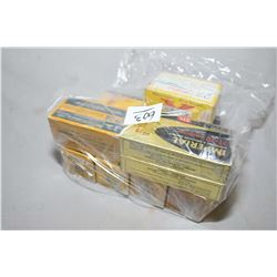 Bag Lot : Four Boxes ( 50 rnds per ) .25 - 20 Cal Collector Ammo - 1 Box .44 - 40 Win Cal Ammo ( 20