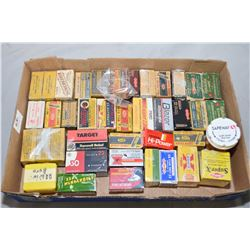 Tray Lot : Collector Ammo Including Some .22 Win Auto Cal [ most are full, some are part ]