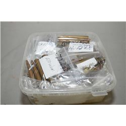 Plastic Tray : Large Caliber Rifle Ammo in bags : .44 Marlin - .458 Mag - .375 H & H - .30 - 40 Krag