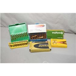 Tray Lot : Factory & Reloaded Ammo : .250 Sav Cal - Approx. 175 Rnds