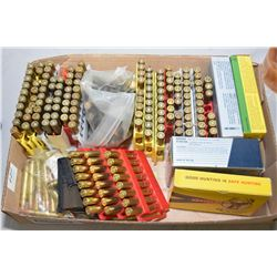 Tray Lot : Approx. 200 Rnds .30 - 06 Factory Ammo & Reloads - Over 250 Rnds .30 Rem Factory & Reload