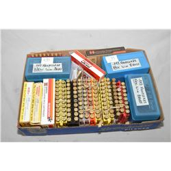 Tray Lot : Approx. 180 Rnds .308 Win - Approx. 190 Rnds .243 Win Factory & Reloads