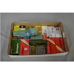 Tray Lot : Approx. 230 Rnds .380 Auto Ammo - 100 Rnds .32 S & W Largo - 2 Boxes .32 S & W Long - Par