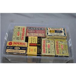 Plastic Tray : Approx. Four & Three Part Boxes of Collector's Shotshells