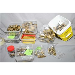 Large Box : Assorted Brass : .303 Brit , .32, .223, .308 , .270 , .7 x 57 , .243, .300 etc.