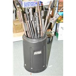 Large Black Plastic Pail : Assorted Rifle Barrels & Actions ONLY [ Marlin, Remington, Savage, etc. ]