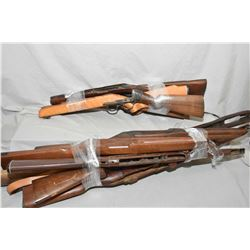 Lot of Two Bundles of Butt Stocks [ Remington Model Nylon 66, Ruger, Mauser, etc. with shotgun bbl ]