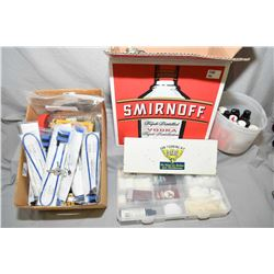Lot of Two Boxes : Asstd Gun Cleaning Supplies, etc.