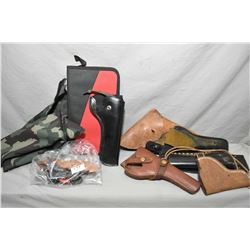 Tray Lot : Bag Lot : H.S. Starter Pistol [ No Pal Req ] - Toy Gambler Cap Gun w/holster - Victory To