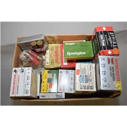 Box Lot : Approx. 6 1/2 Boxes .12 Ga - Approx. 7 Boxes .20 Ga - Plus Some 5 Rnd Boxes of Shot Shells