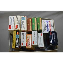 Tray Lot : Box ( 500 Rds ) Winchester Dynapoint .22 LR HP Ammo - Asstd CCI Primers - Various Boxes o