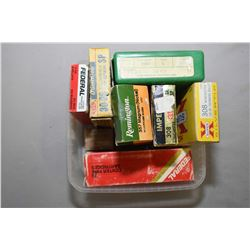 Tray Lot : RCBS .308 Win 2 Die Set - Small Box .380 Revolver Ctgs - 40 Rnds .44 Rem Mag Ammo - 30 Rn
