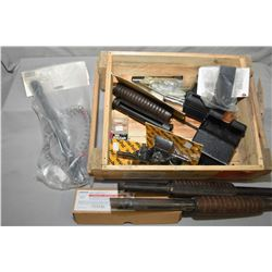 Wooden Box : Shotgun Forends, ( 3 ) Versa Pod Adapters - Butt Plate Extensions - Gun Parts - New in