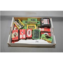 Tray Lot : Part & Full Boxes of Moly Coated Bullets - some non Moly coated - C02 Ctgs -