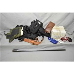 Box Lot : As New Green Shooting Coat - Cash Creek Shooting Vest - .7 MM Mag Remington Barrel ONLY -